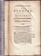 Natuurlijke historie van het rundvee in Holland