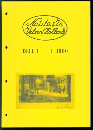 Nauta & Zn, Velsen (Holland). Dl. 1: 1-1000