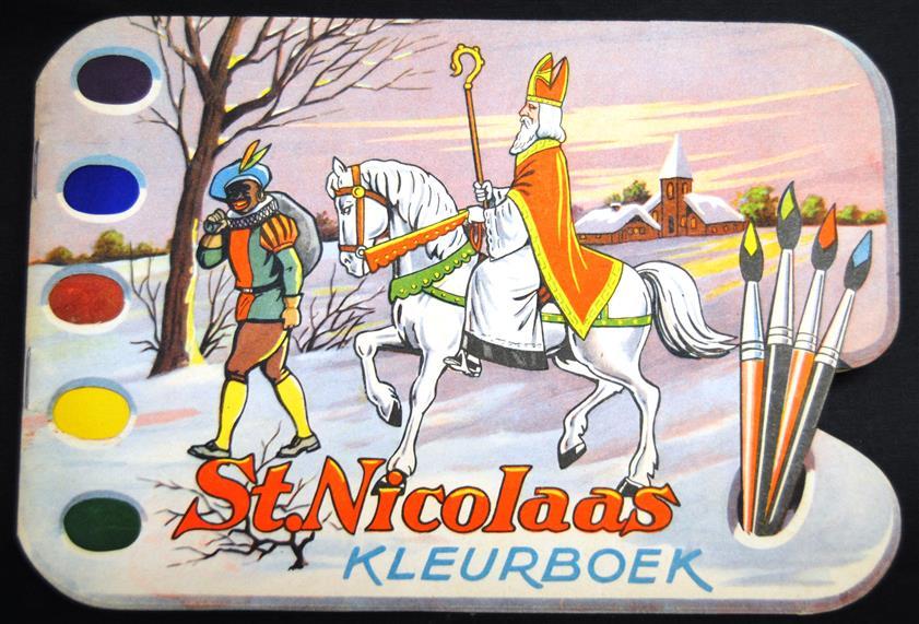St. Nicolaas : kleurboek