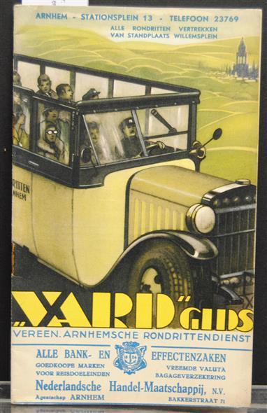 Vereenigde Arnhemsche Rondrittendienst gids 1938
