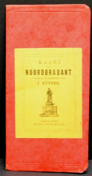 Wielrijders - kaart voor Gelderland