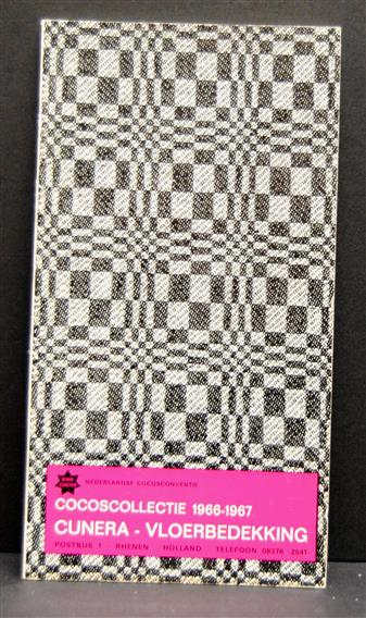 Cocoscollectie 1966 - 1967 - Cunera vloerbedekking  (= cocosmatten )( Sales catalogue on cocos carpets )