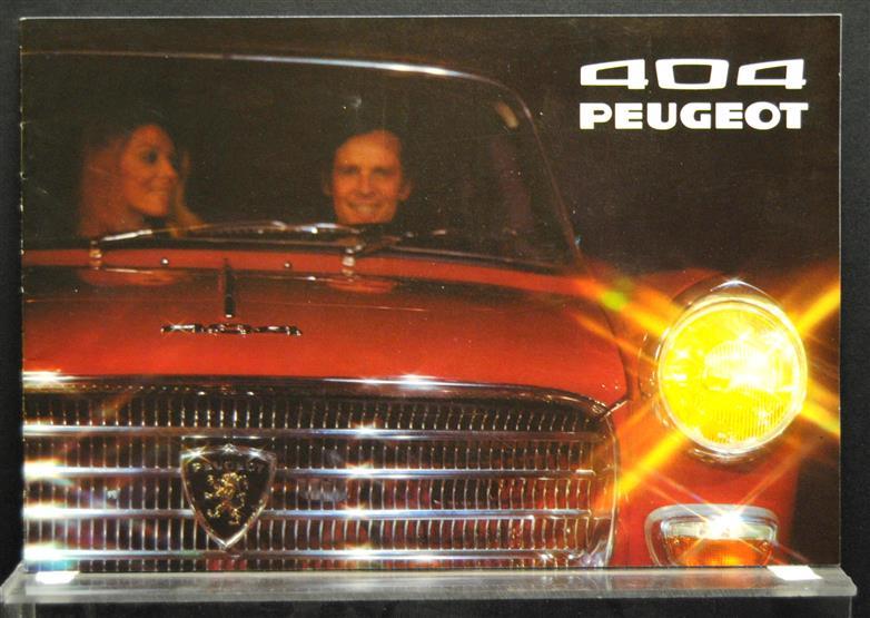 Peugeot 404 ( Limousine, Kombi ) ( German language )
