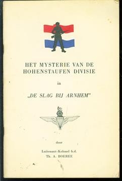 """Het mysterie van de Hohenstaufen Divisie in """"De slag bij Arnhem"""""""