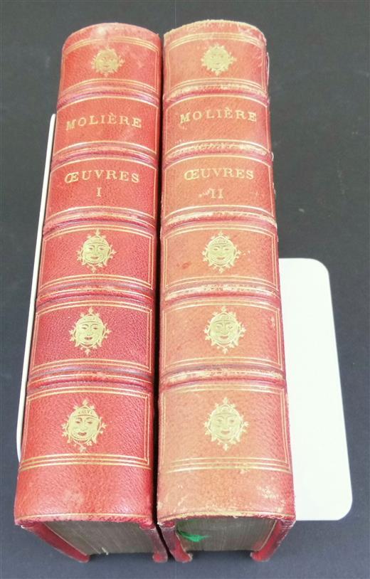 Oeuvres complètes De Molière. Nouvelle edition.