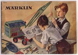 Brochure Märklin - Marklin ( 14910 ) Metalbaukasten