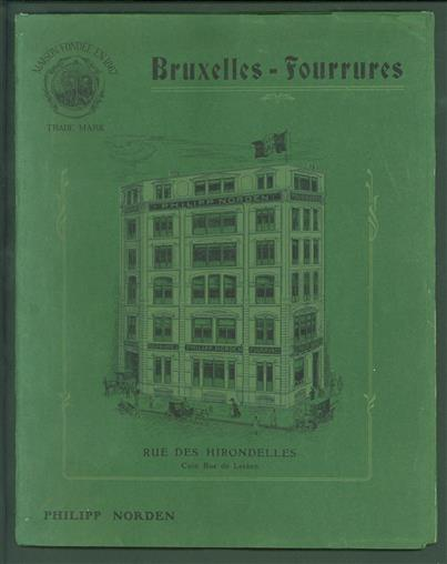 ( Sale catalog ) ( fashion ) Bruxelles Fourrures ( = Brussels furs )