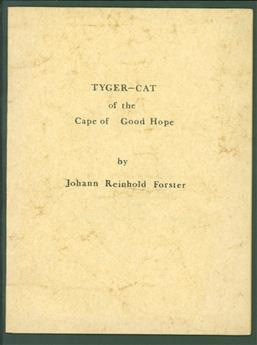Tyger-cat of the Cape of Good Hope.
