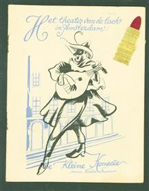 Programma boekje: Ballot 1953 - 1954