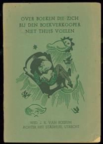 Over boeken die zich bij den boekverkooper niet thuis voelen. boekwijzer 1941-1942