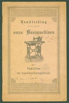 Handleiding bij het gebruik onze naaimachines voor familien en handswerkgebruik.  ( = guide to the use of our sewing machines )