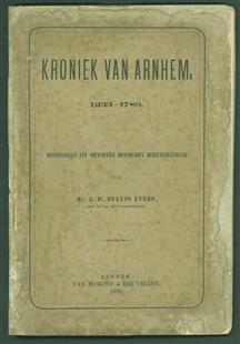 Kroniek van Arnhem, 1233-1789