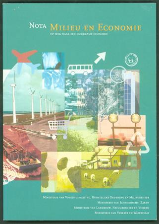 Nota milieu en economie : op weg naar een duurzame economie : samenvatting