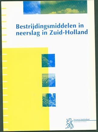 Bestrijdingsmiddelen in neerslag in Zuid-Holland