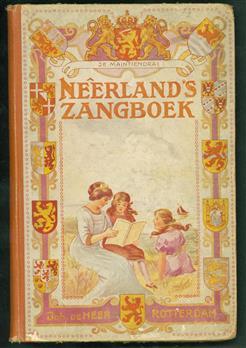 Neerlands zangboek : keurbundel van volks-, school- en gezelschapsliederen voor gemengd koor : ook geschikt voor zang, harmonium of piano