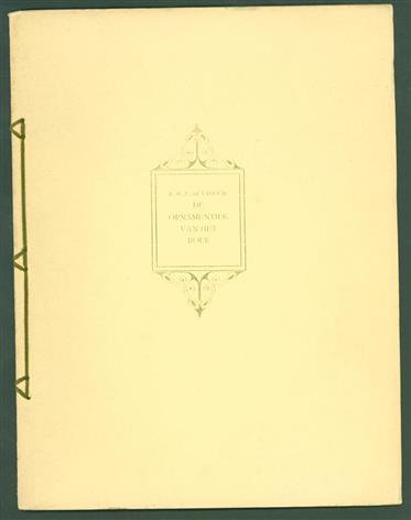 De ornamentiek van het boek