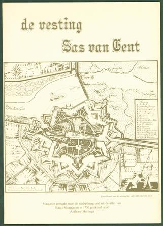 De vesting Sas van Gent : maquette gemaakt naar de stadsplattegrond uit de atlas van Staats-Vlaanderen in 1750 getekend door Anthony Hattinga