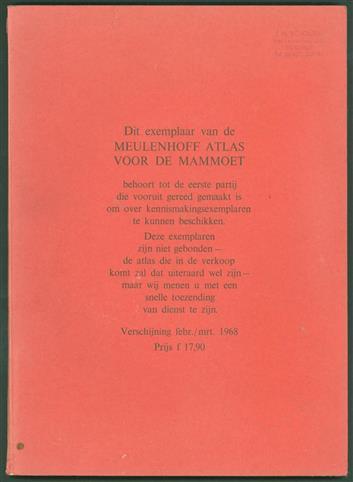 Meulenhoff atlas voor de mammoet , Atlas voor de mammoet