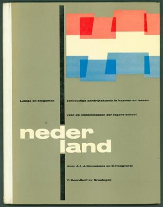 Nederland : eenvoudige aardrijkskunde in kaarten en lessen voor de middenklassen der lagere school