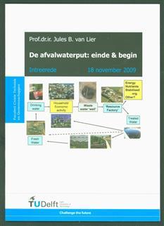 De afvalwaterput : einde en begin.