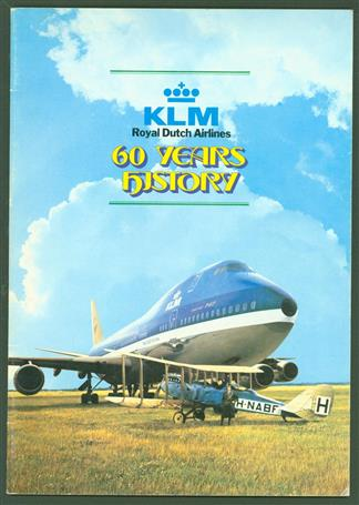 60 Years history : KLM Royal Dutch Airlines.
