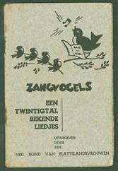 Zangvogels : een twintigtal bekende liedjes