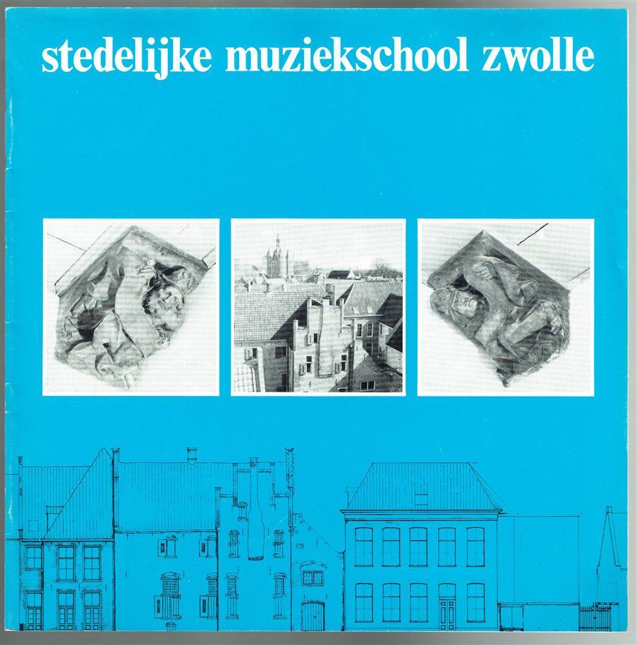 Stedelijke muziekschool Zwolle.