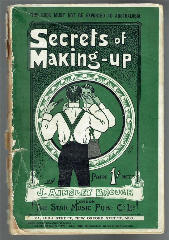 The secrets of making up.