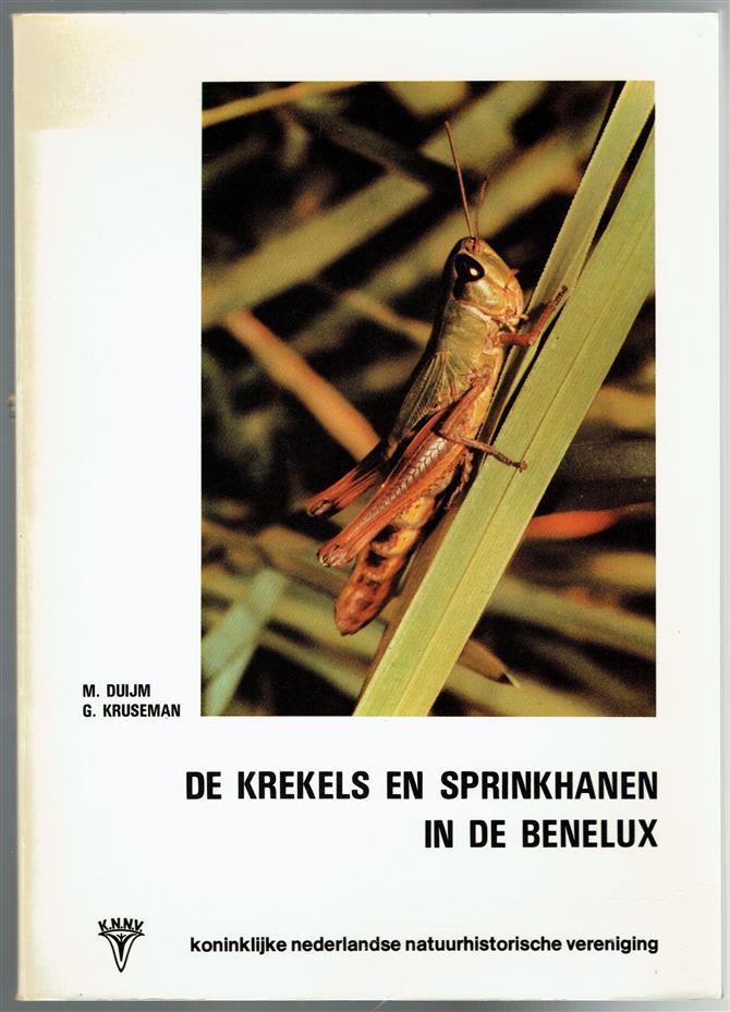 De krekels en sprinkhanen in de Benelux ( = The crickets and grasshoppers in the Benelux )