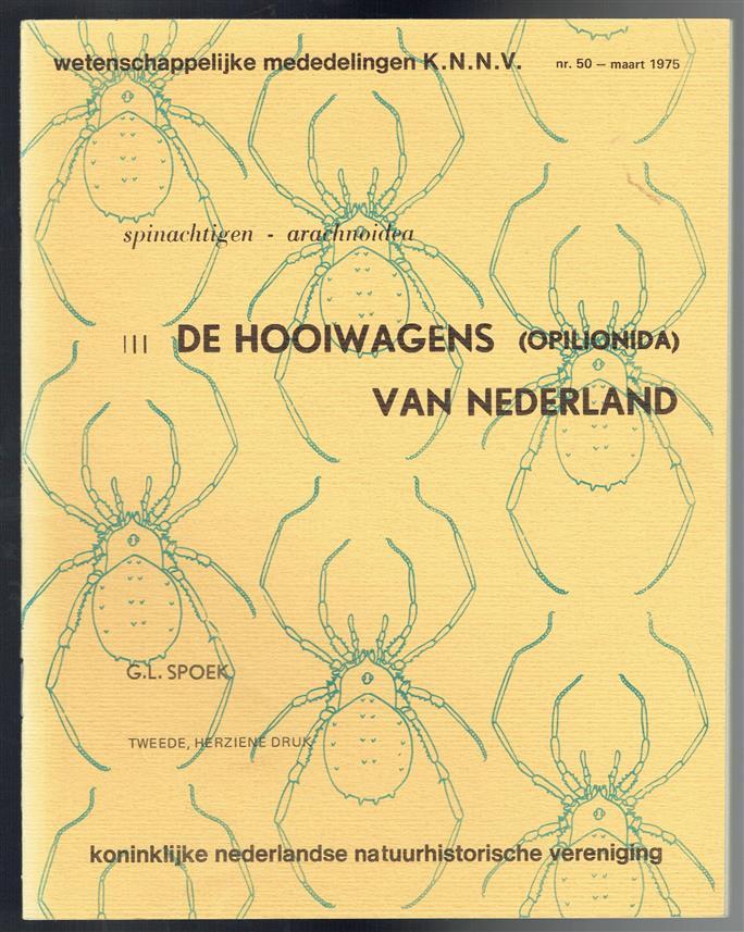 De hooiwagens (Opilionida) van Nederland