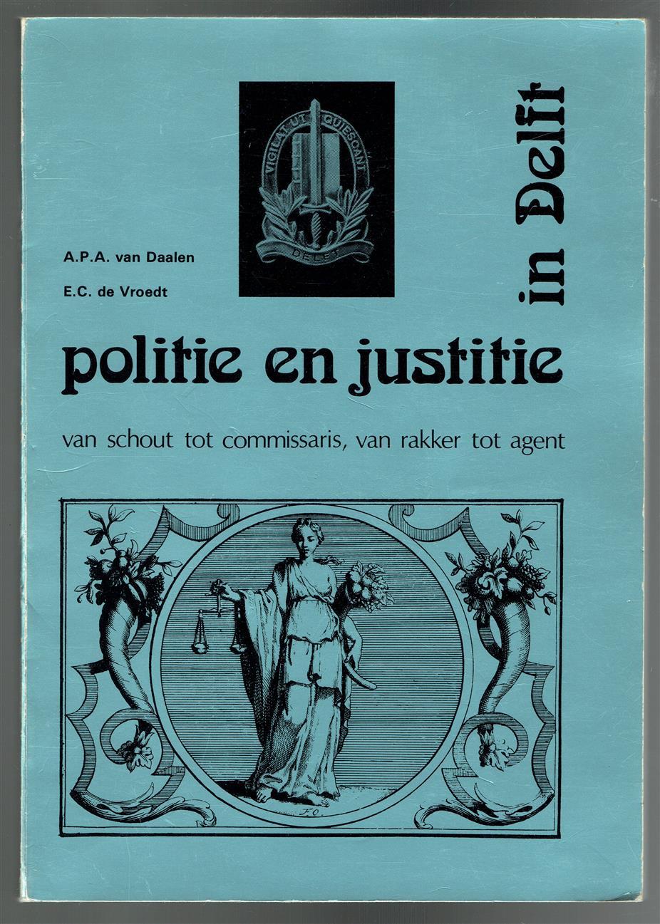 Politie en justitie in Delft