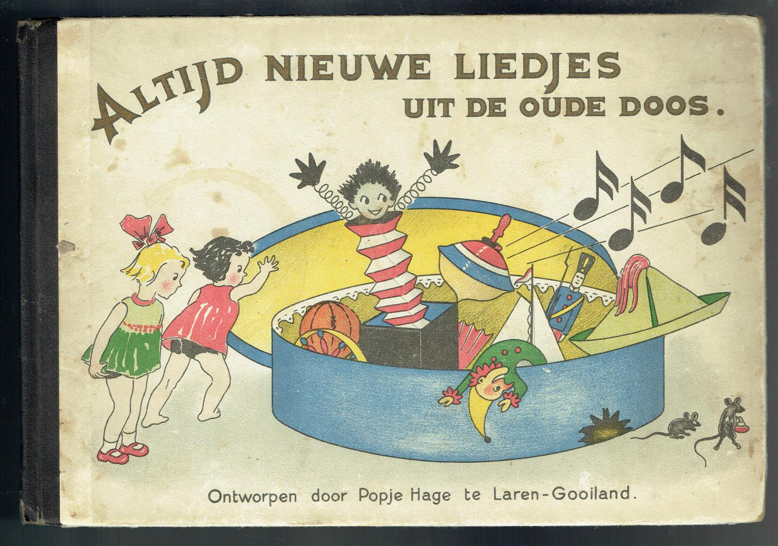 Altijd nieuwe liedjes uit de oude doos