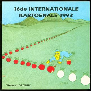 "16de Internationale Kartoenale 1993 : thema ""De Tuin """