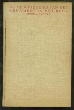 De geschiedenis van het ornament in het boek