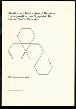 Kinetics and mechanism of benzene hydrogenation over supported Ru, Cu and Ru-Cu catalysts