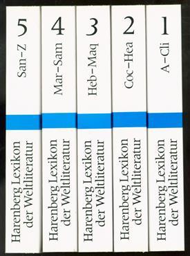 Harenberg-Lexikon der Weltliteratur : Autoren, Werke, Begriffe : 5 Bände