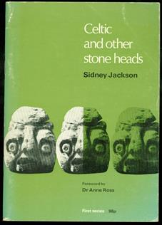 Celtic and other stone heads;