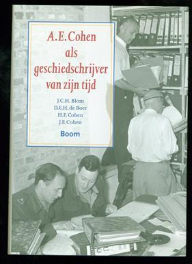 A.E. Cohen als geschiedschrijver van zijn tijd