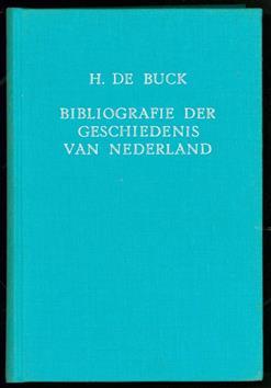 Bibliografie der geschiedenis van Nederland