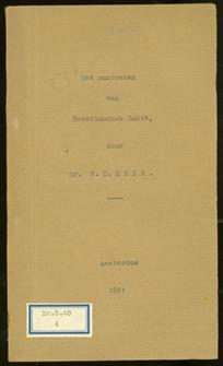 Het Muntwezen van Nederlandsch Indië