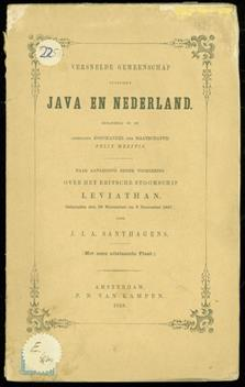 Versnelde gemeenschap tusschen Java en Nederland, behandeld in de Afdeeling Koophandel der Maatschappij Felix Meritis