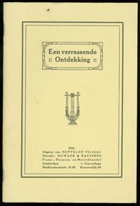 Een verrassende ontdekking : oorspronkelijke novelle ( reprint )
