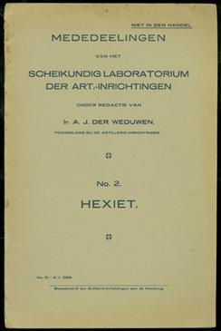 Hexiet ( Omtrent eigenschappen en gebruik van Hexiet als rookverwekker )