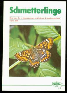 Rote Liste der in Niedersachsen gefährdeten Grossschmetterlinge : Stand 1986