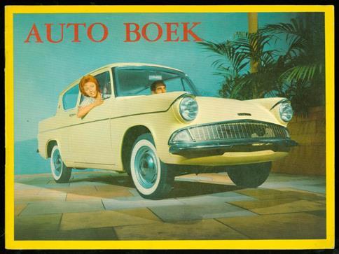 Het nieuwe auto boek met leuke versjes voor de kleinen, technische gegevens voor de groteren en orginele kleurenfoto's