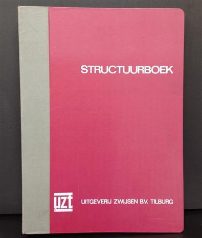 Structuurboek : ontworpen bij de structuurmethode voor het aanvankelijk leesonderwijs