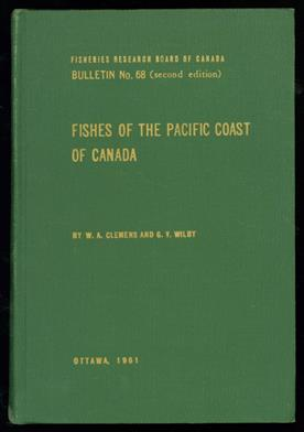 Fishes of the Pacific coast of Canada,