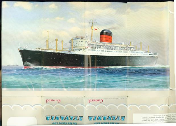 The new Cunard Liner SYLVANIA