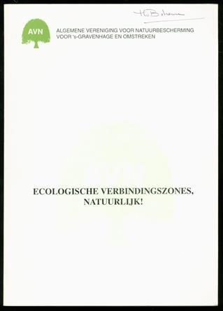 Ecologische verbindingszones, natuurlijk! : een verkenning van natuur in Den Haag anno 1996