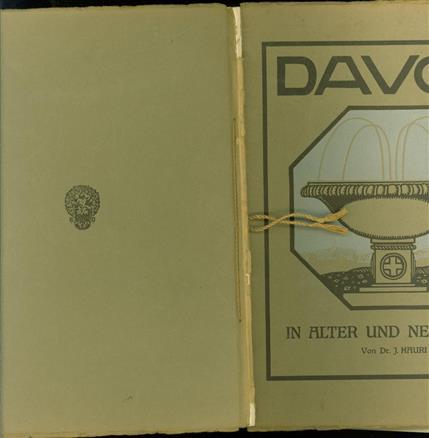 Davos in alter und neuer Zeit : Festschrift, den Teilnehmern an dem vom Deutschen Zentralkomitee für Ärztliche Studienreisen veranstalteten Besuch in Davos, 3.